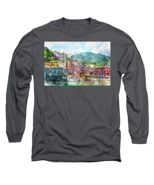 Cinque Terre Italy Long Sleeve T-Shirt