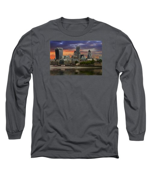 City Of London Long Sleeve T-Shirt by David French