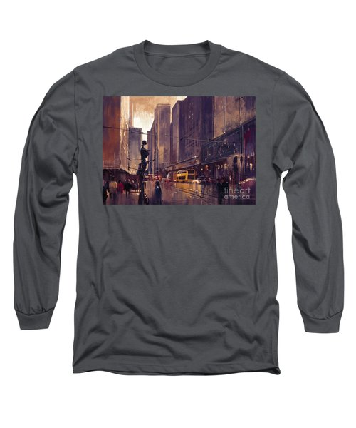 City Street Long Sleeve T-Shirt