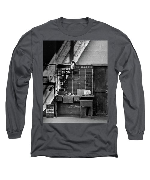 Clocked Out Long Sleeve T-Shirt by Jeffrey Jensen
