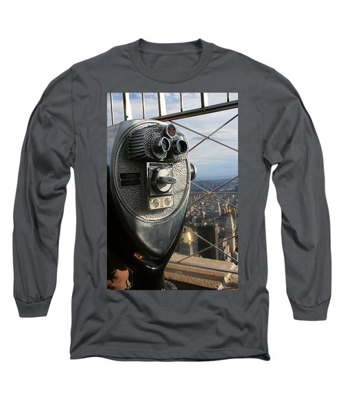 Coin Operated Viewer Long Sleeve T-Shirt