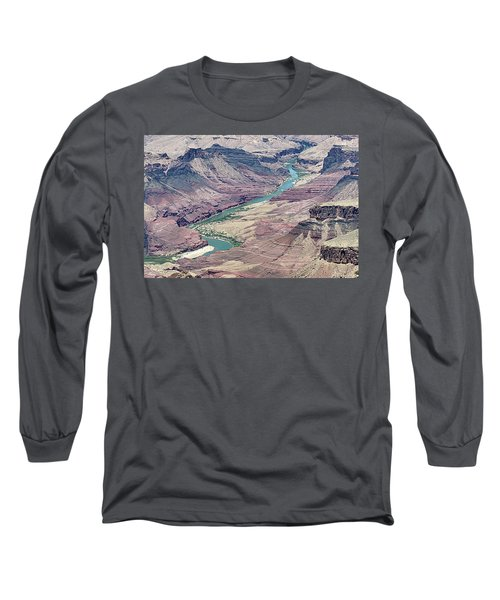 Colorado River In The Grand Canyon Long Sleeve T-Shirt