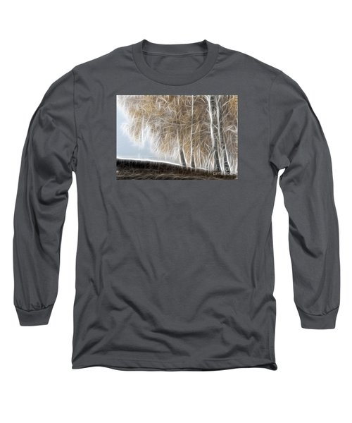 Colorful Misty Forest Long Sleeve T-Shirt
