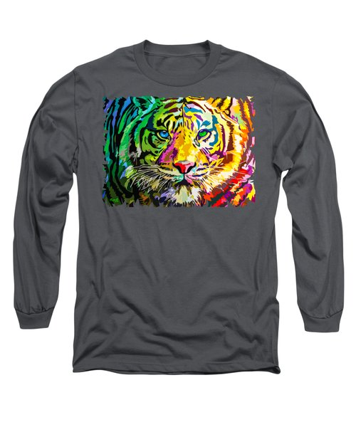 Colorful Tiger Long Sleeve T-Shirt