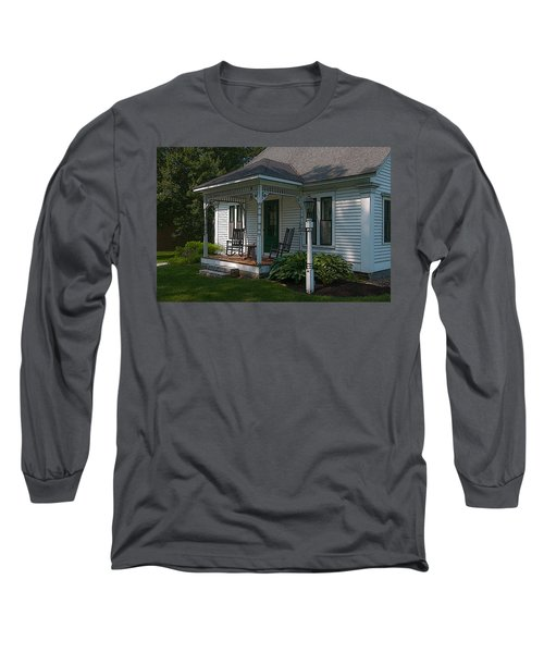 Come Sit On My Porch Long Sleeve T-Shirt by Brenda Jacobs