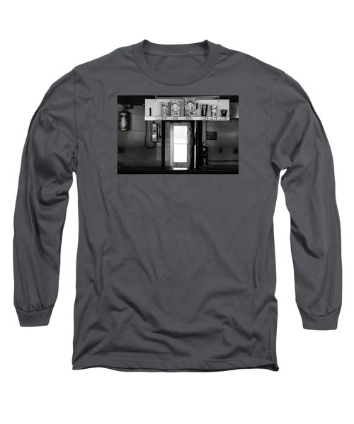 Long Sleeve T-Shirt featuring the photograph Concessions by Michael Nowotny