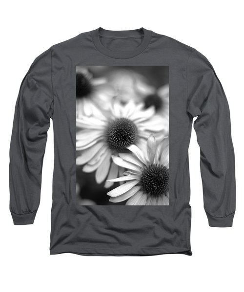 Cone Flower 7 Long Sleeve T-Shirt by Simone Ochrym