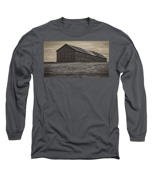 Connecticut Tobacco Barn Long Sleeve T-Shirt