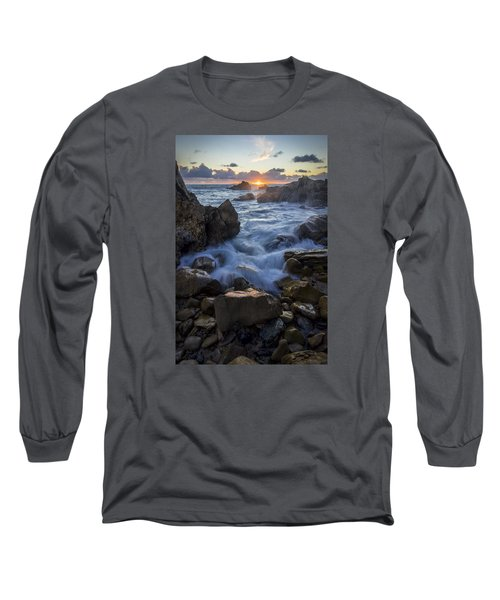 Long Sleeve T-Shirt featuring the photograph Corona Del Mar by Sean Foster