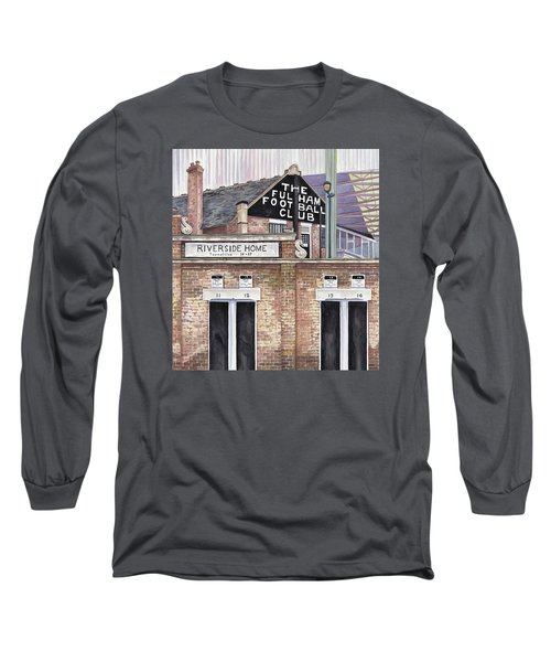 Craven Cottage Long Sleeve T-Shirt by Scott Nelson