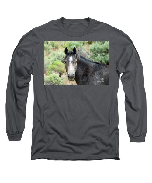 Curious Long Sleeve T-Shirt by Michele Penner