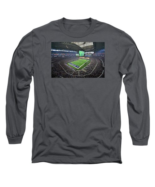 Dallas Cowboys Att Stadium Long Sleeve T-Shirt