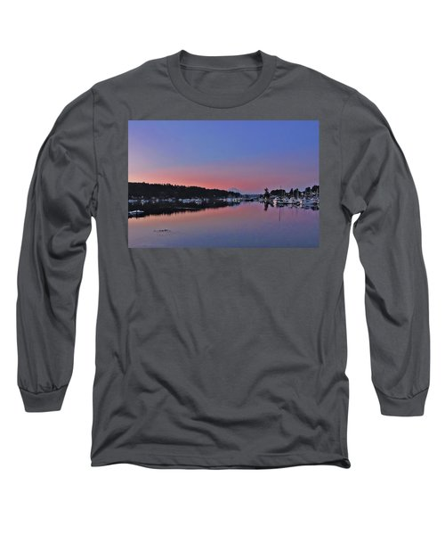 Long Sleeve T-Shirt featuring the photograph Dawn At Gig Harbor by Jack Moskovita
