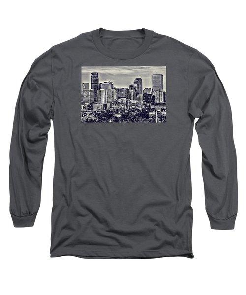 Denver Colorado Long Sleeve T-Shirt by Steven Parker