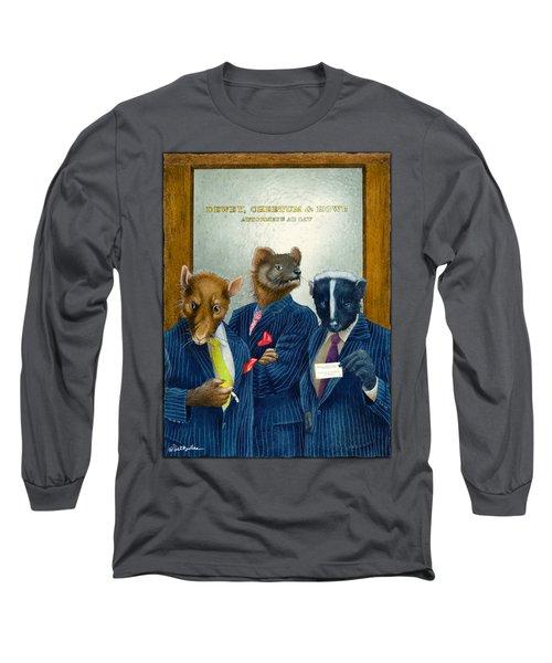 Dewey, Cheetum And Howe... Long Sleeve T-Shirt