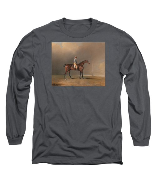 Diamond With Dennis Fitzpatrick Up Long Sleeve T-Shirt by Benjamin Marshall
