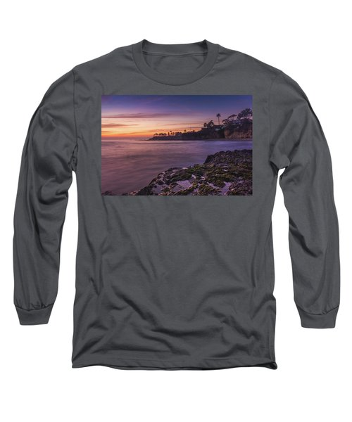 Diver's Cove Sunset Long Sleeve T-Shirt