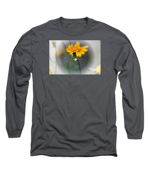 Double Yellow Long Sleeve T-Shirt by Yumi Johnson
