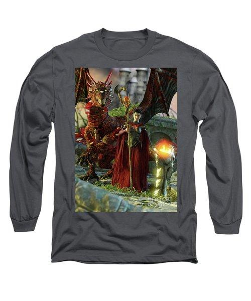 Dragon Queen Long Sleeve T-Shirt