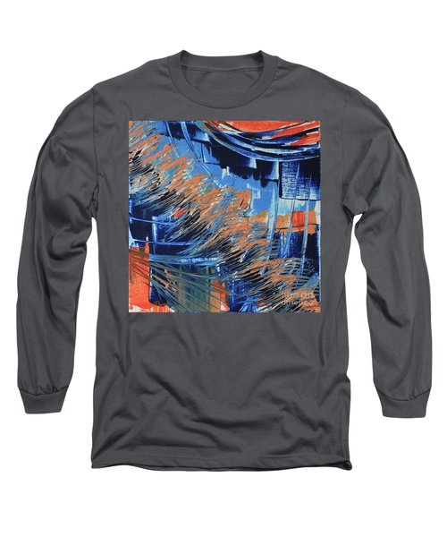 Long Sleeve T-Shirt featuring the painting Dreaming Sunshine  by Cathy Beharriell