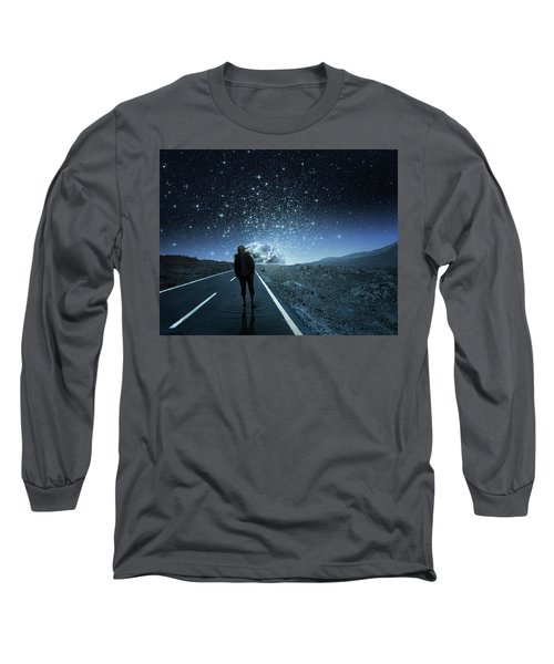 Dreams Long Sleeve T-Shirt by Berebel Co By Angel Caulin