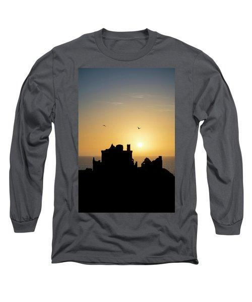 Dunnottar Castle Sunrise Long Sleeve T-Shirt