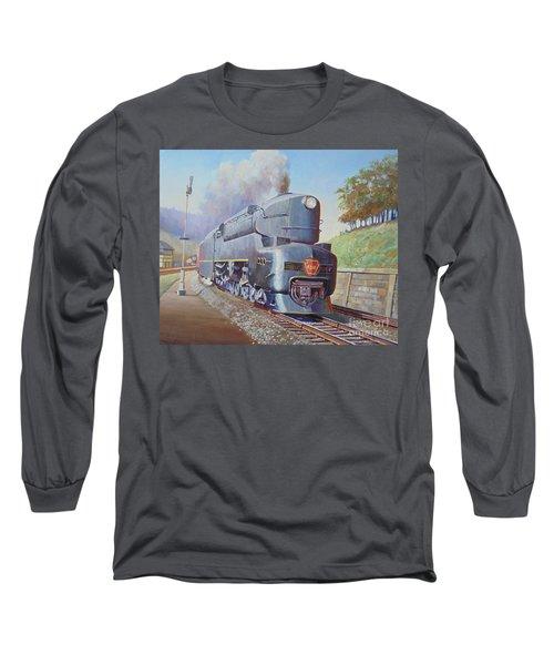 Duplex Express Long Sleeve T-Shirt by Mike Jeffries