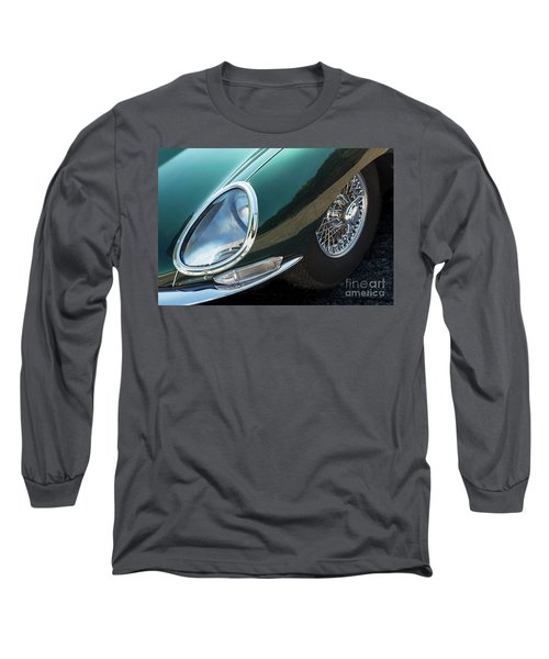 Long Sleeve T-Shirt featuring the photograph E-type by Dennis Hedberg