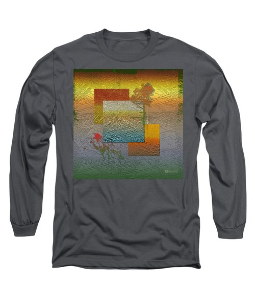 Early Morning In Boreal Forest Long Sleeve T-Shirt by Serge Averbukh