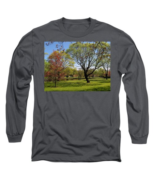 Early Spring Long Sleeve T-Shirt by John Scates