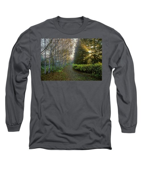 Evening Light Long Sleeve T-Shirt by Vladimir Kholostykh