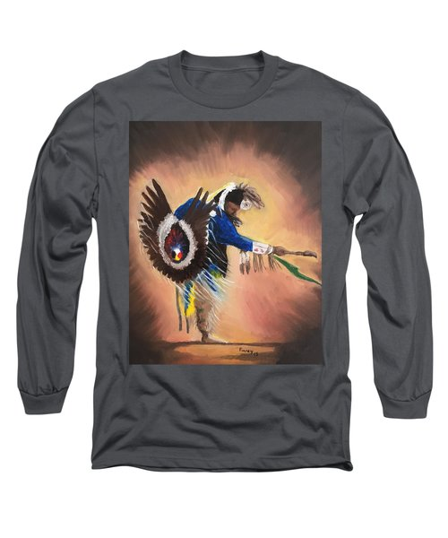 Everybody Dance #1 Long Sleeve T-Shirt by Michael  TMAD Finney