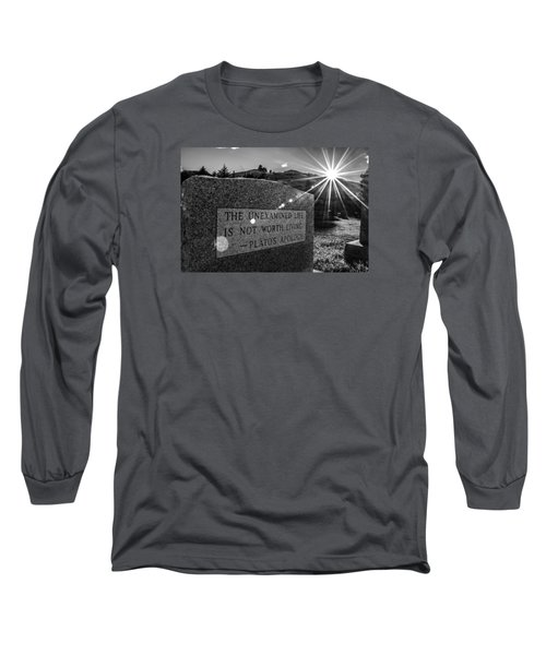Examined Life Long Sleeve T-Shirt by Rhys Arithson