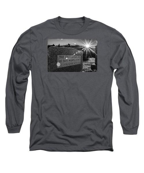 Examined Life Long Sleeve T-Shirt
