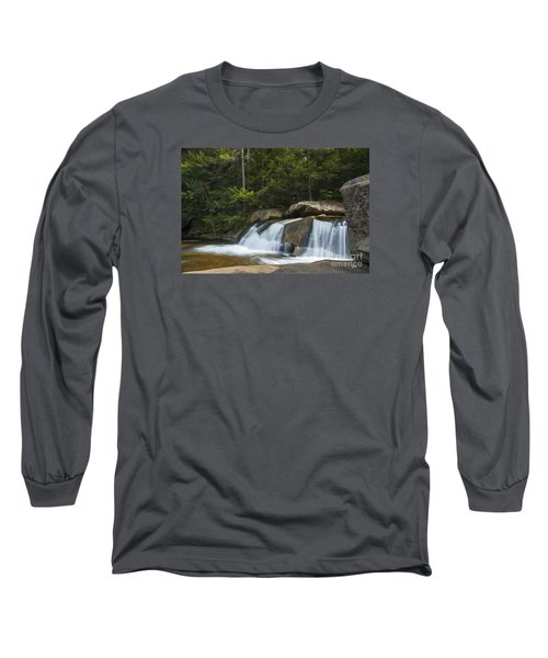 Long Sleeve T-Shirt featuring the photograph Falls by Alana Ranney
