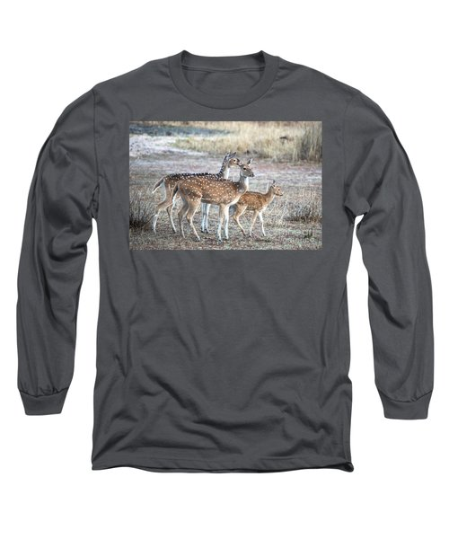 Family Outing Long Sleeve T-Shirt by Pravine Chester