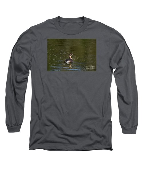 Feathered Friend Long Sleeve T-Shirt by Kathy Gibbons