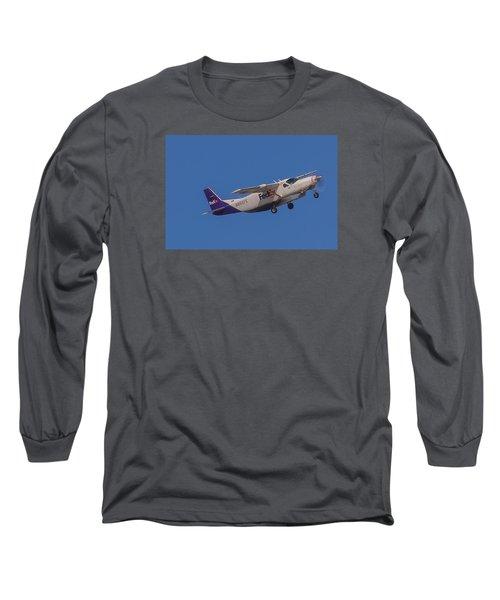 Fedex Airplane Long Sleeve T-Shirt