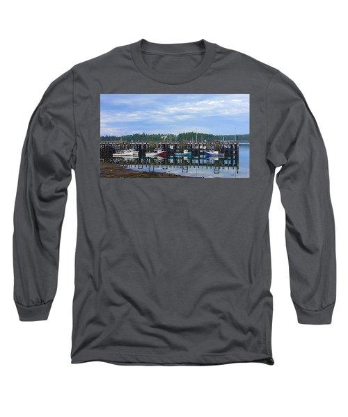 Fishing Boats - Beaver Harbour Long Sleeve T-Shirt