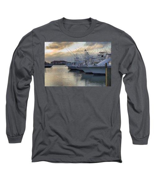 Fishing Yachts Long Sleeve T-Shirt