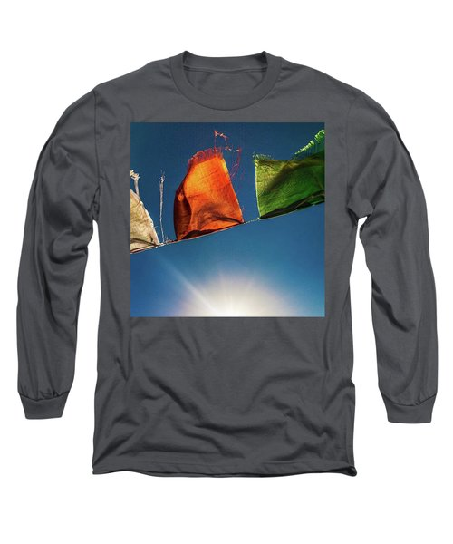 Flags Long Sleeve T-Shirt