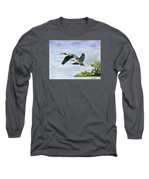 Fly Away Long Sleeve T-Shirt by Wayne Pascall
