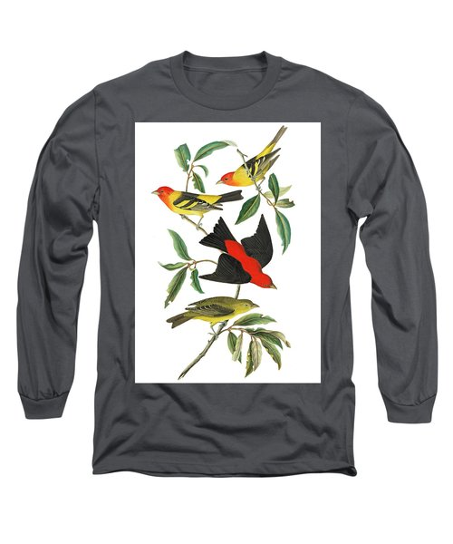 Long Sleeve T-Shirt featuring the photograph Flying Away by Munir Alawi