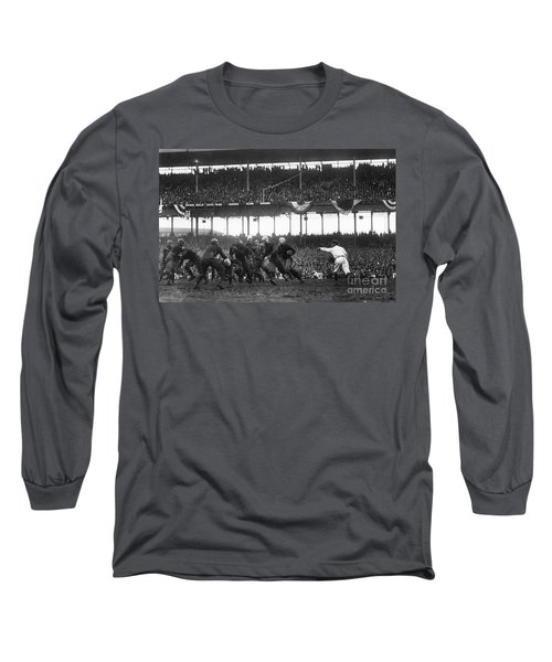 Football Game, 1925 Long Sleeve T-Shirt