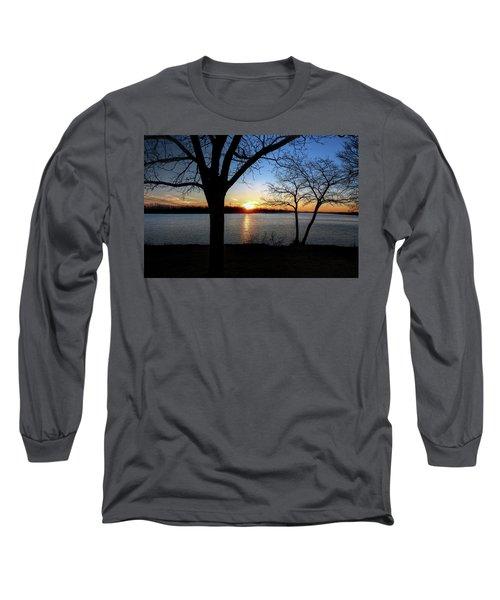Ford Lake Sunset Long Sleeve T-Shirt