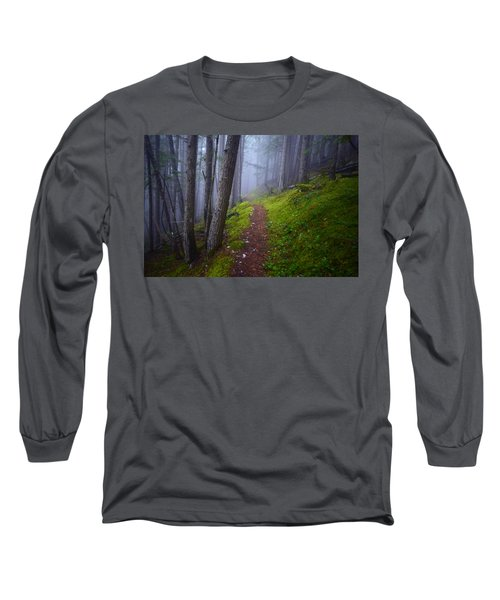 Long Sleeve T-Shirt featuring the photograph Forest Mysteries by Tara Turner