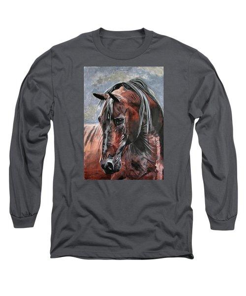 Forever Long Sleeve T-Shirt by Melita Safran