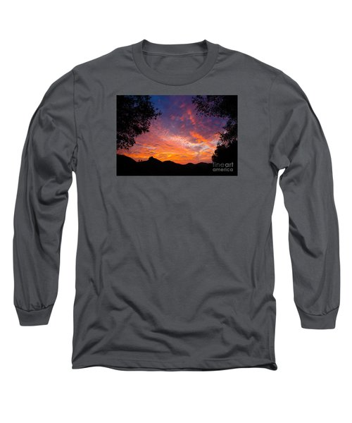 Framed Sunrise Long Sleeve T-Shirt