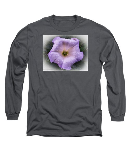 Long Sleeve T-Shirt featuring the photograph Freshly Showered by Jeremy McKay