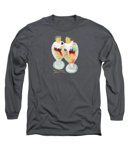 Fruit Cocktail Long Sleeve T-Shirt by Jean Pacheco Ravinski